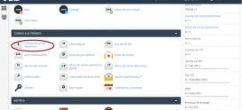 Creación de correos en CPanel