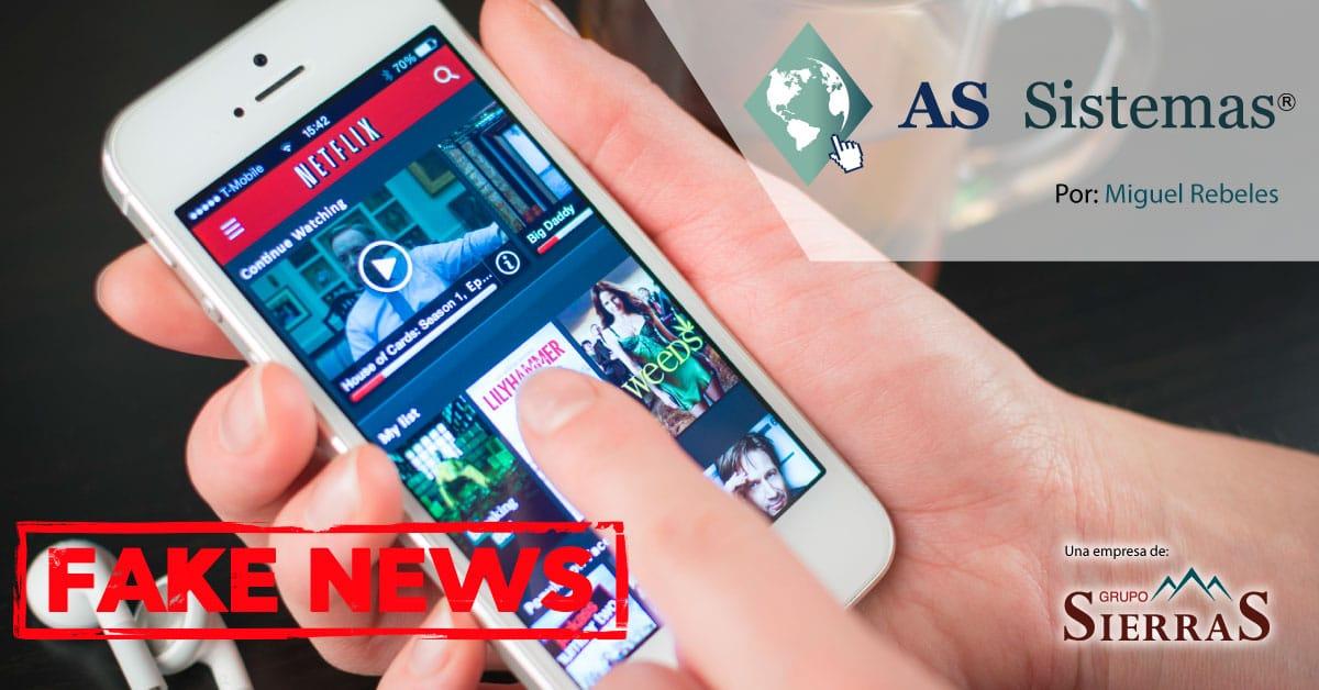 Fake news: ¿Netflix gratis durante la cuarentena?